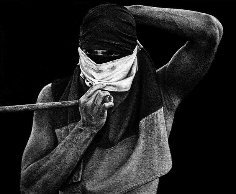 Kepa Garraza dibuja las revueltas tras el confinamiento