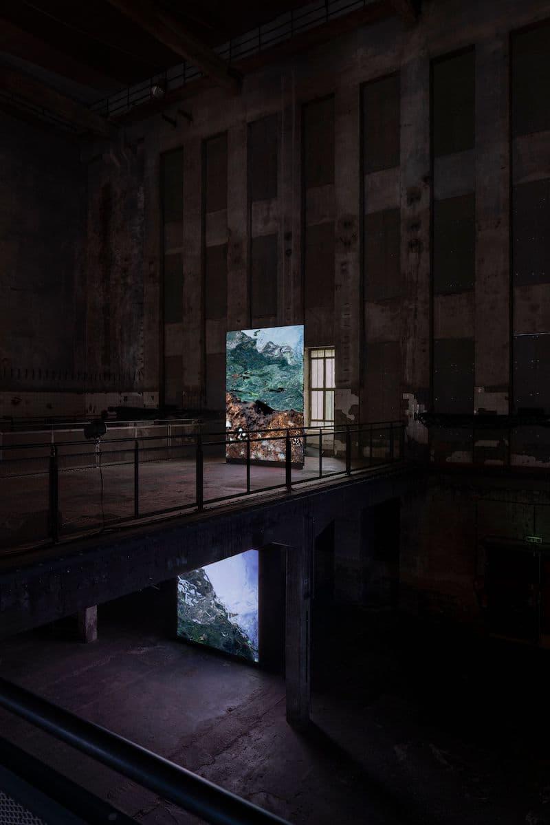 Light Art Space: 'Berl-Berl'  Halle am Berghain (Berlín)