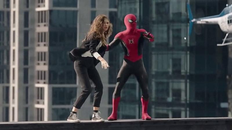 Spider-Man al cubo y sin camino a casa