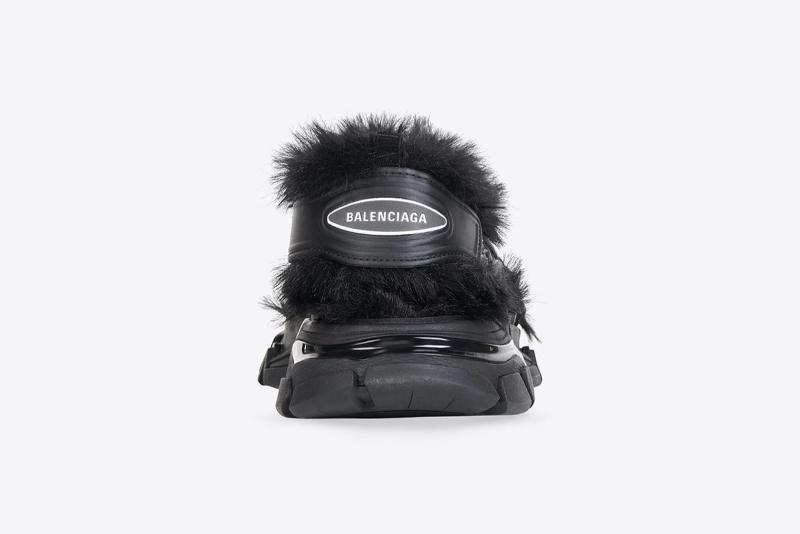 ¡Trend Alert! Balenciaga Track Sandal Fake Fur