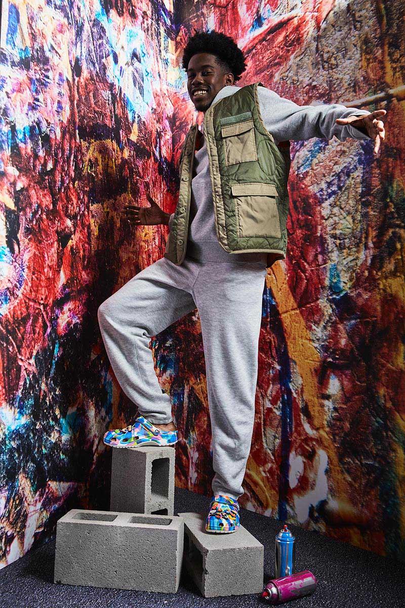 Crocs lanza Bubble Block, su colección más urbana