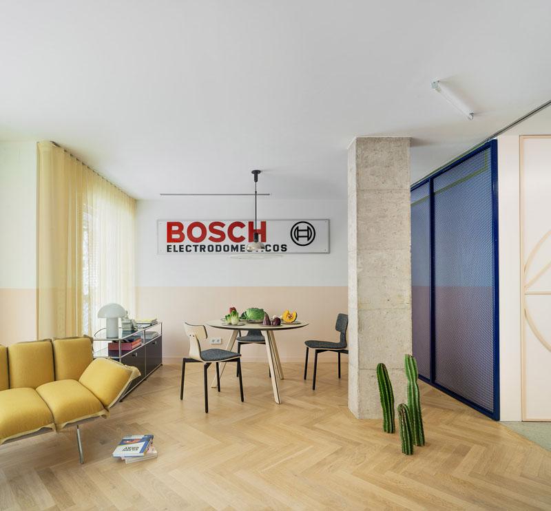 El estudio Número 26 convierte una oficina en una vivienda