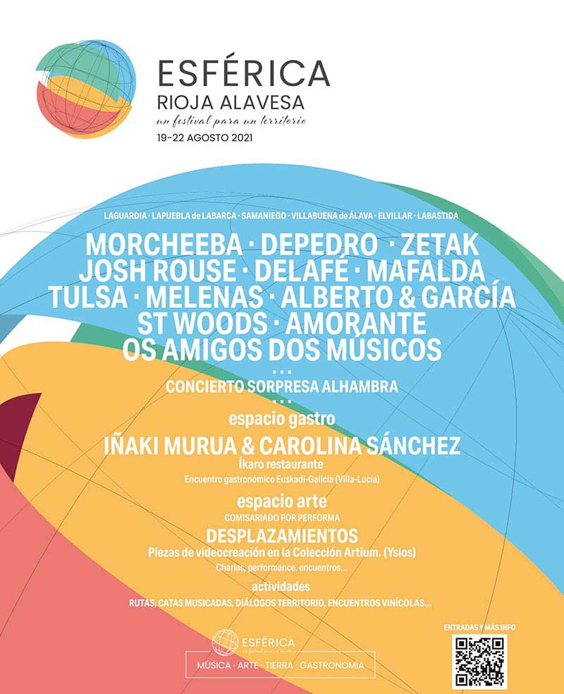 Esférica Rioja Alavesa, festival musical y gastronómico