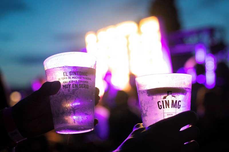Gin MG añadió frescura al Festival Jardins de Terramar