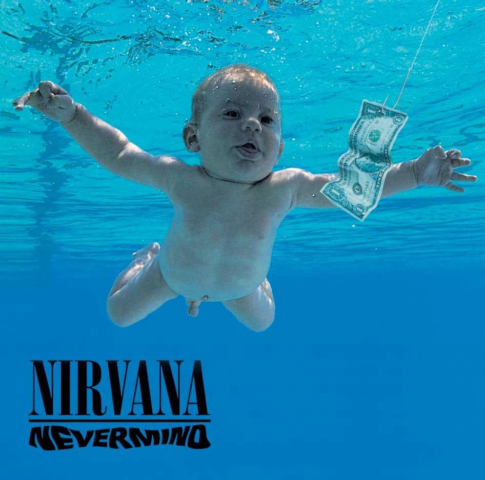 Spencer Elden, el niño del álbum Nevermind de Nirvana