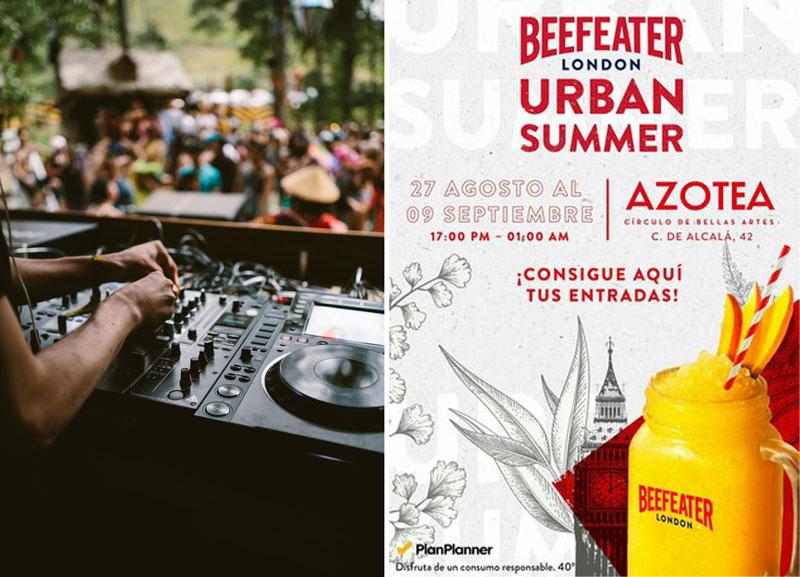 Beefeater Urban Summer, una refrescante vuelta a la ciudad.