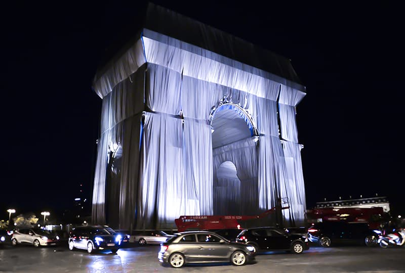 'L'Arc de Triomphe, Wrapped': después de Christo