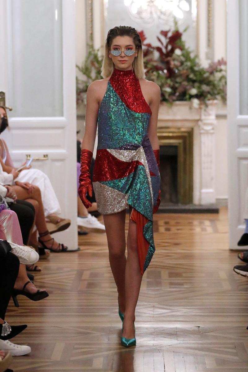 Paloma Suárez SS22 en la Semana de la Moda de Madrid
