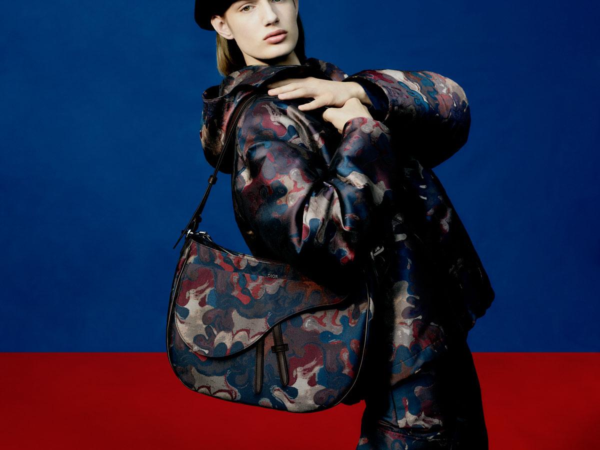 Kim Jones reinventa el camuflaje para Dior con Peter Doig