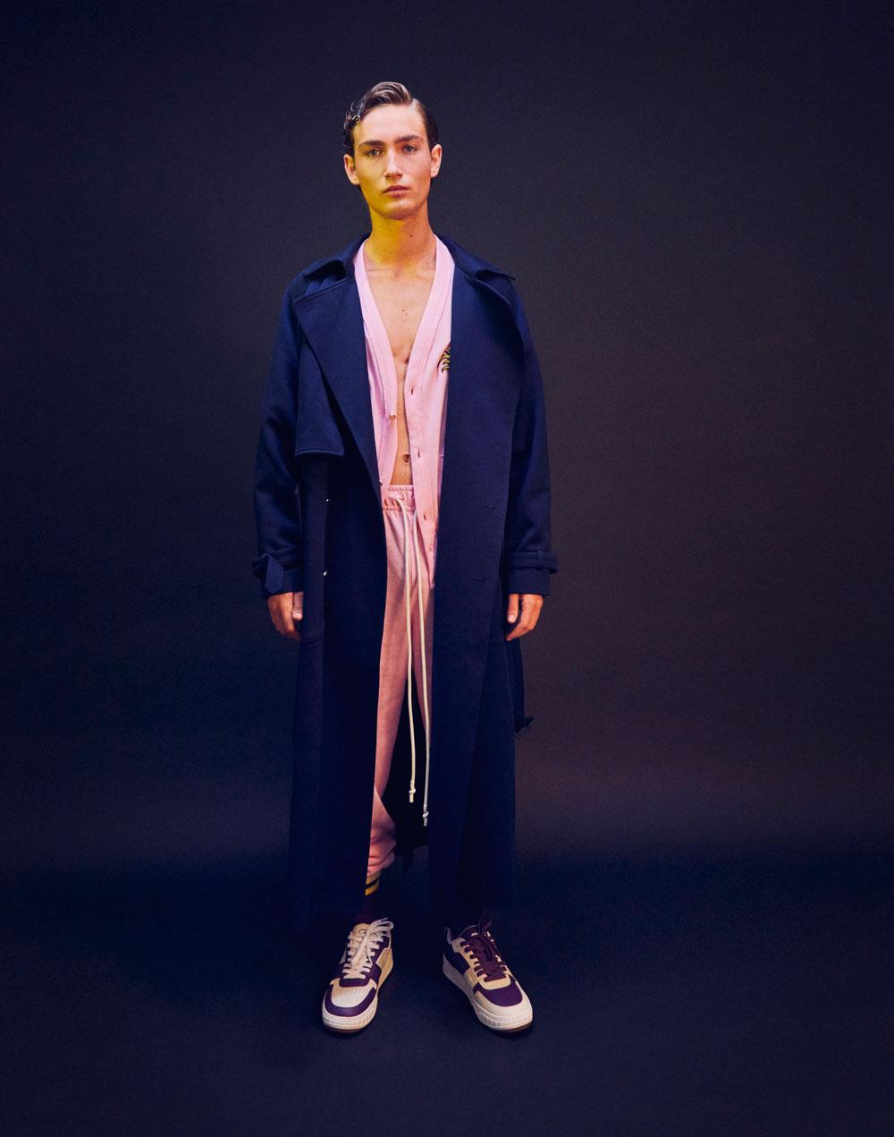 Casting de chicos para editorial de moda masculina