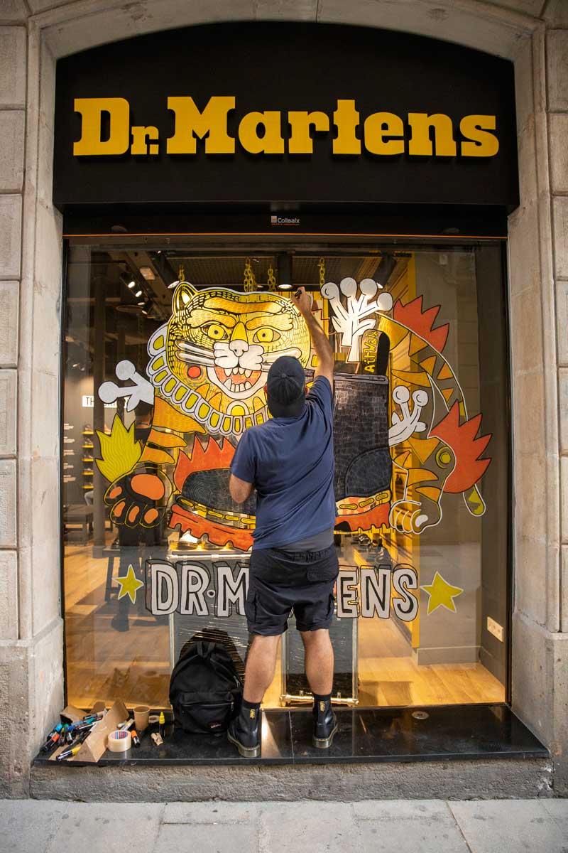 Dr Martens abre tienda en Barcelona