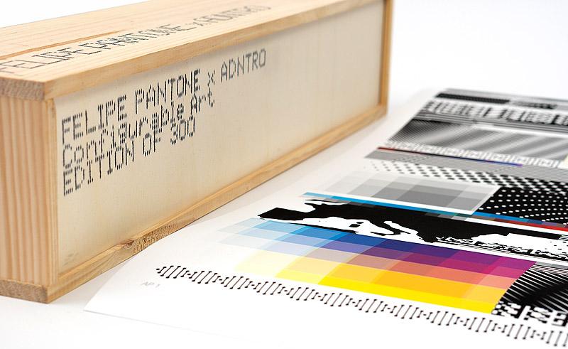 Felipe Pantone > Optichromie Genetic