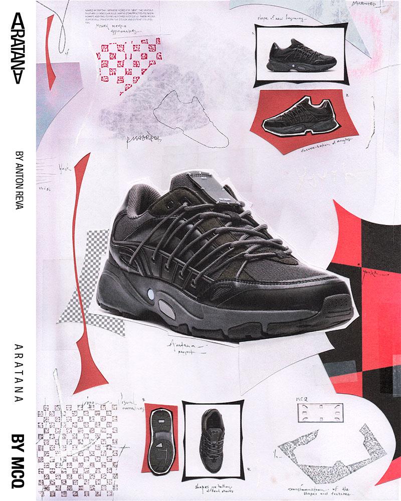 Las sneakers de MCQ Aratana x Areté