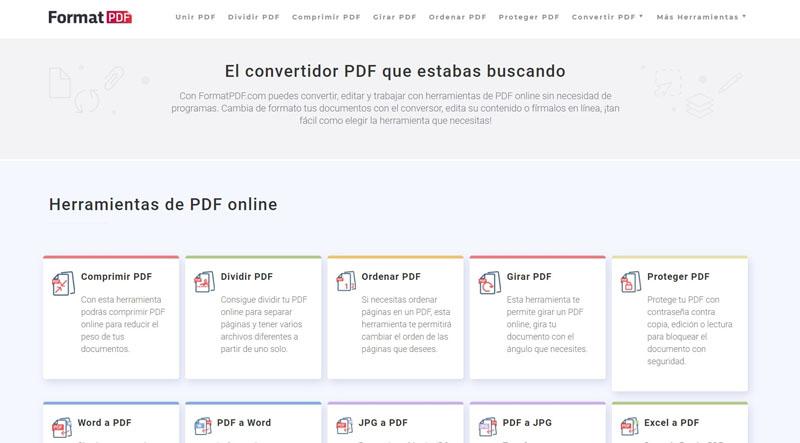 Mejores editores PDF online para profesionales y amateurs