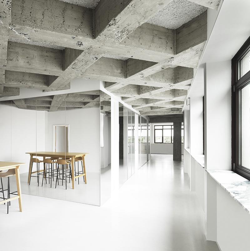 La nueva sede de Normann Copenhagen en una antigua imprenta