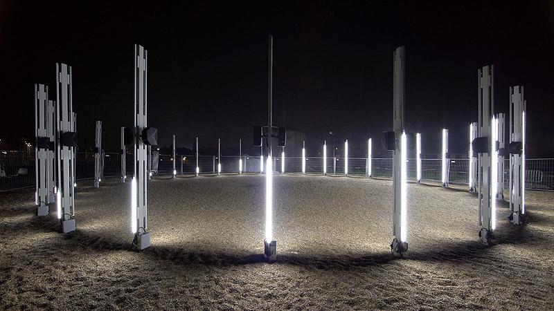 Gyrotope: Una experiencia visual y sonora de Pablo Valbuena