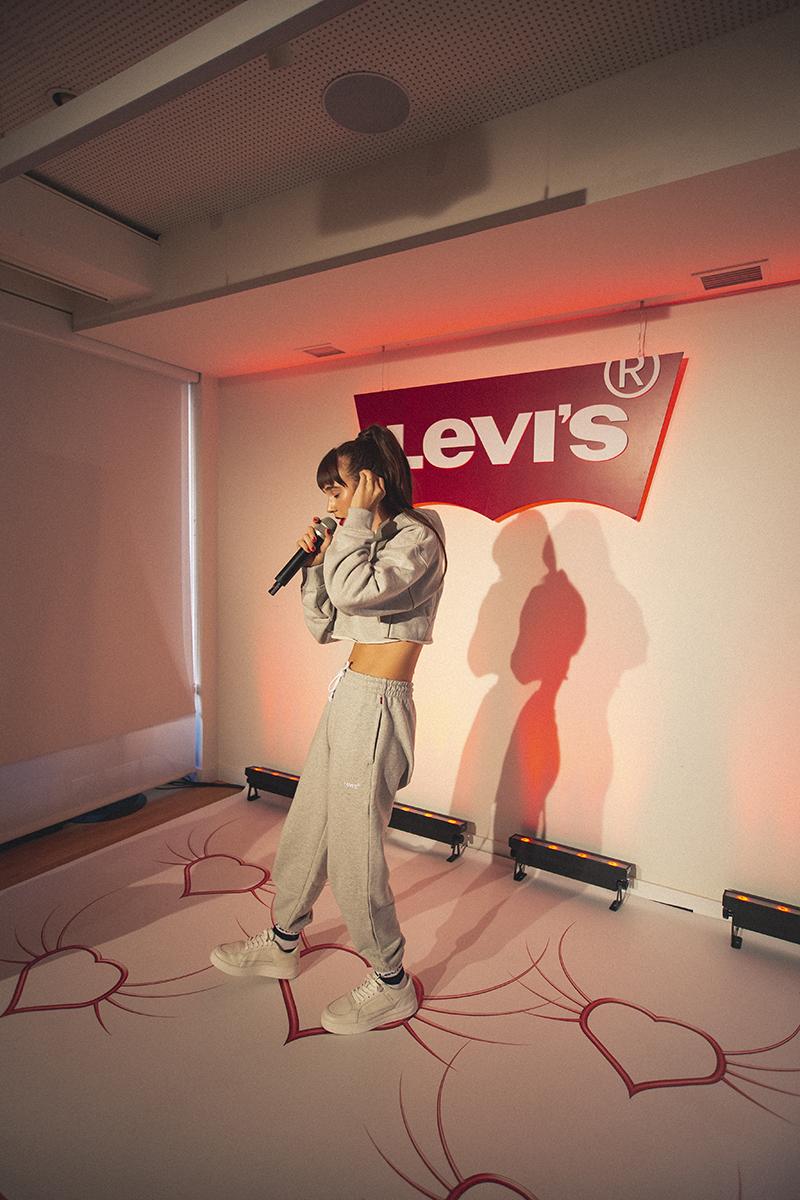 Robie x Levi's en la Listening Party de su EP