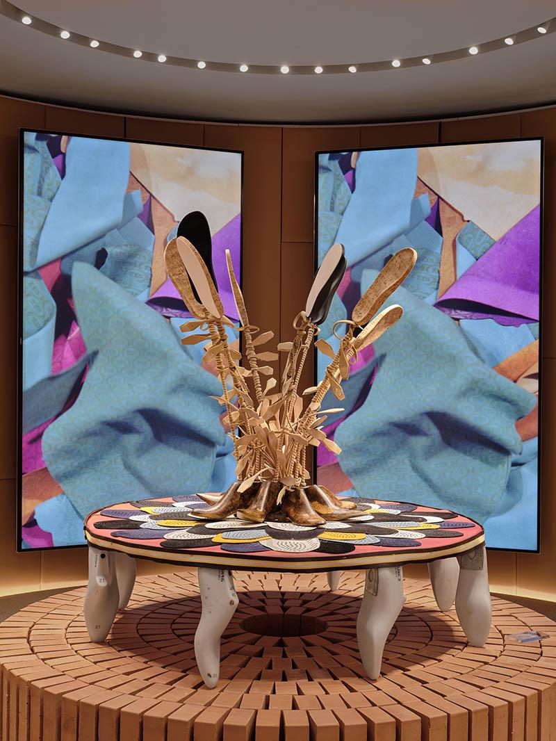 Tod's y su propuesta upcycling con el artista Willie Cole