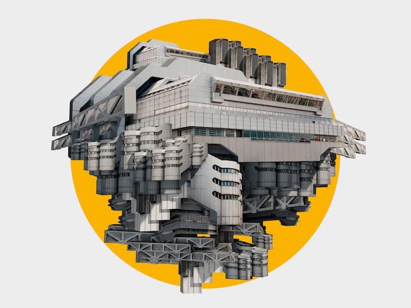 'The Sun Machine Is Coming Down' en el futurista ICC Berlín
