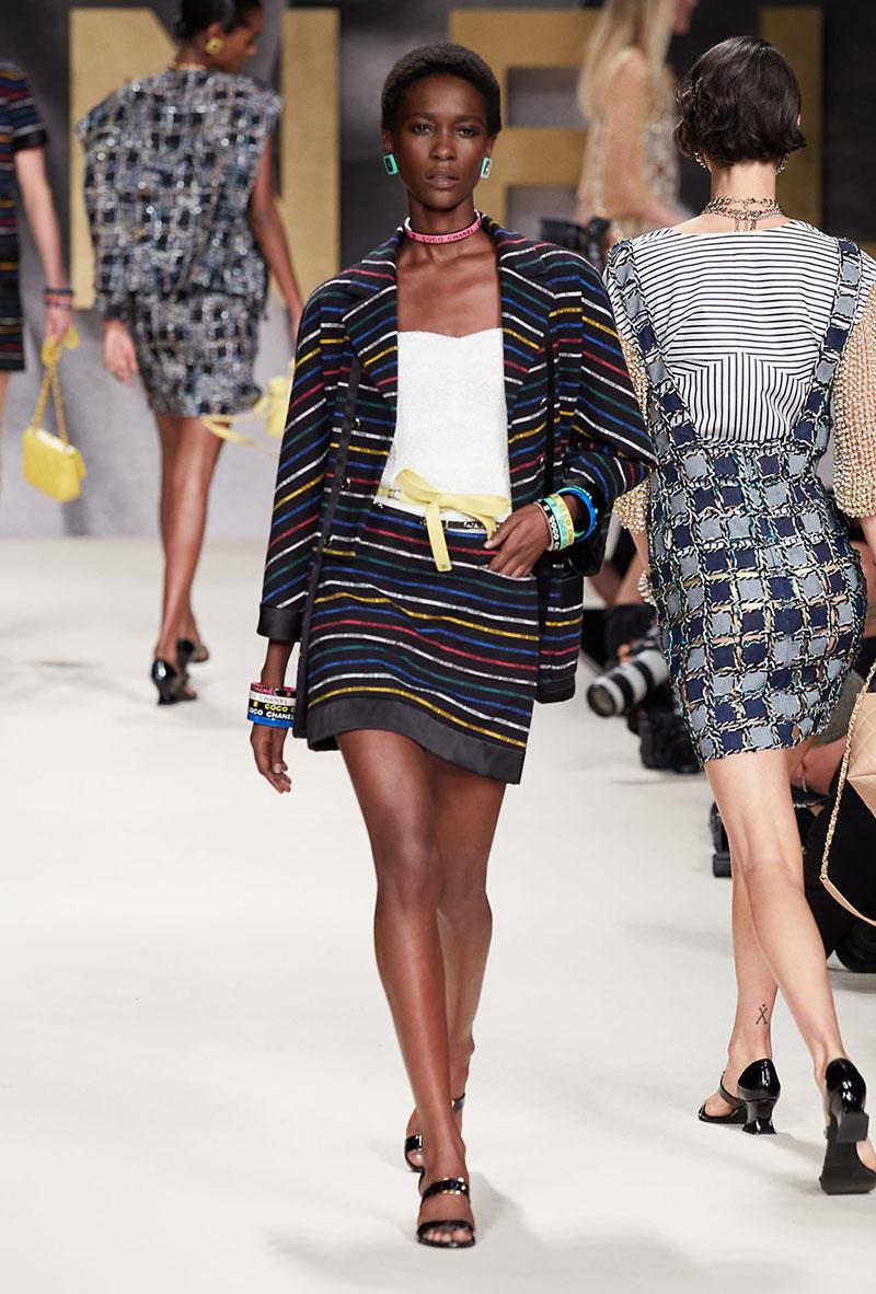 Chanel SS22 en Paris Fashion Week
