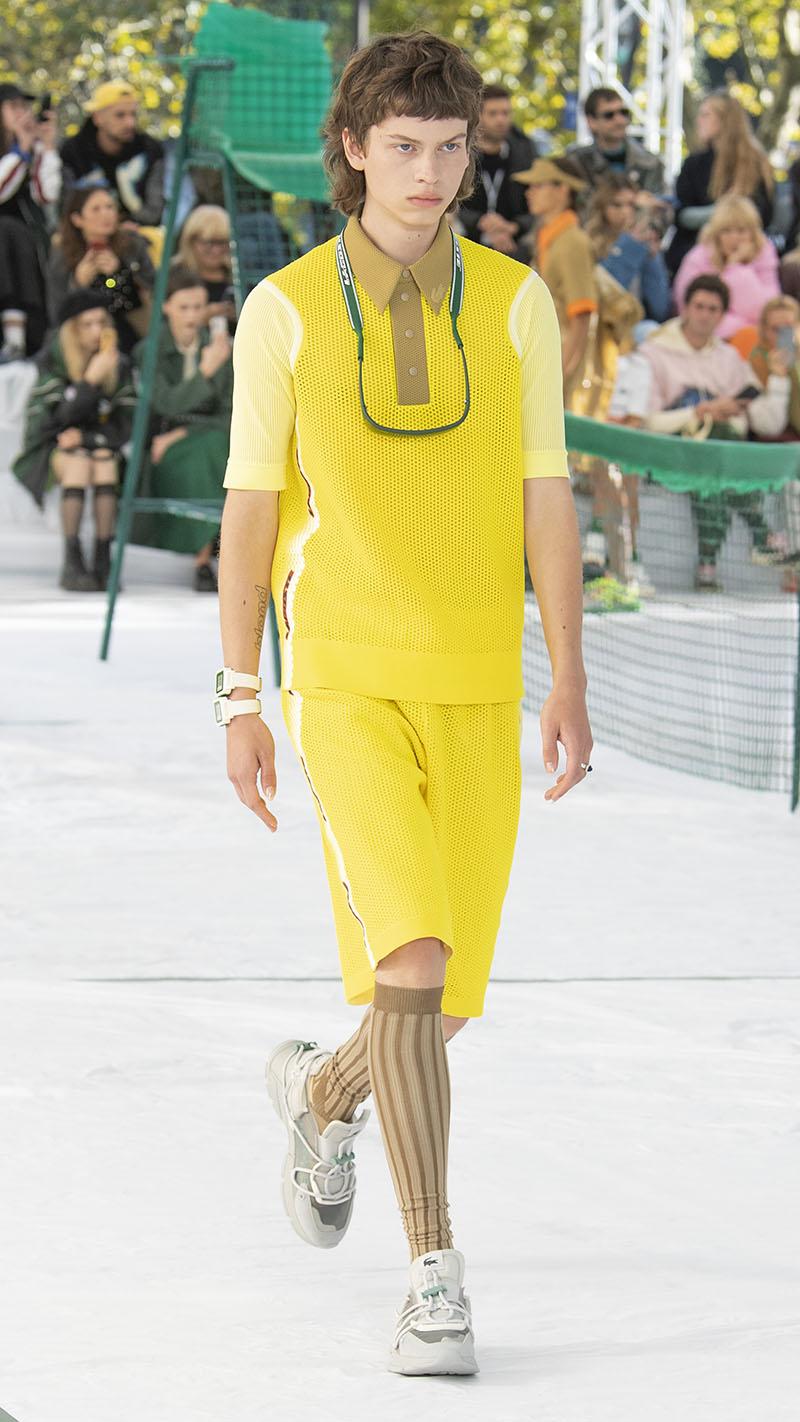 Lacoste SS22 en Paris Fashion Week