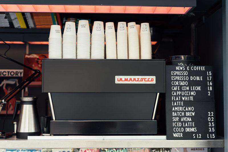 News & Coffee: revistas molonas y café, por fin en Madrid