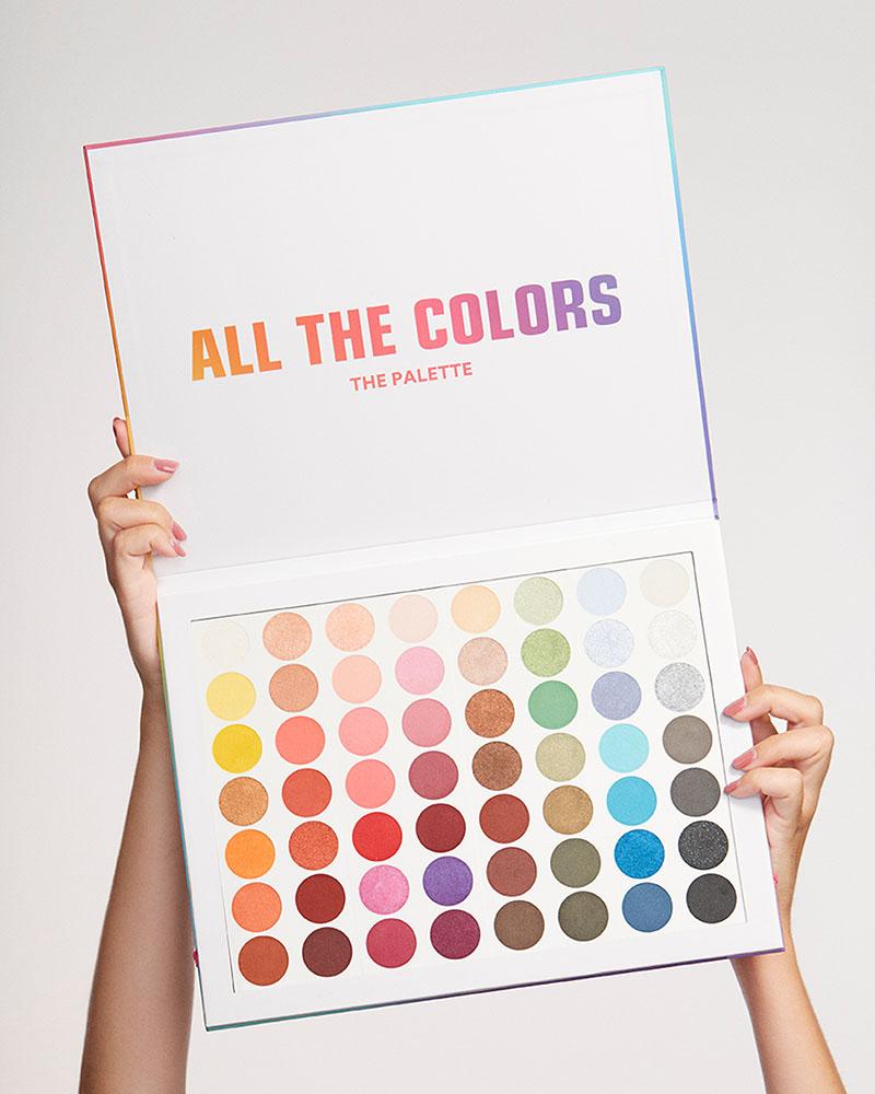 3INA lanza la paleta de sombras definitiva: All The Colors