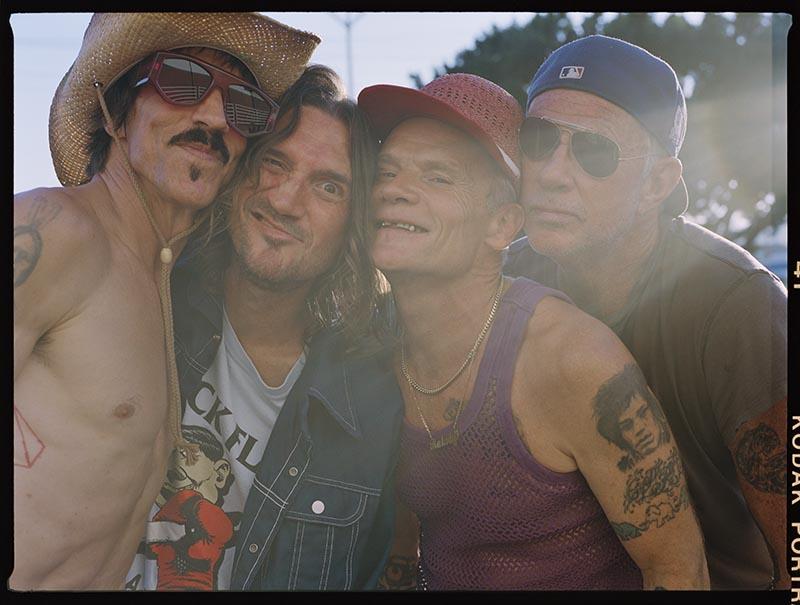 Red Hot Chili Peppers pararán en España en su gira mundial