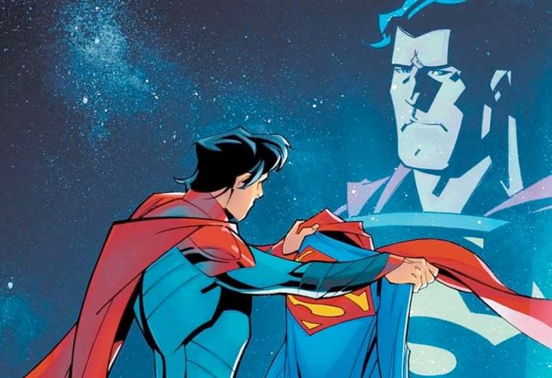 El joven Superman es gay, el héroe de la comunidad LGTBIQ+