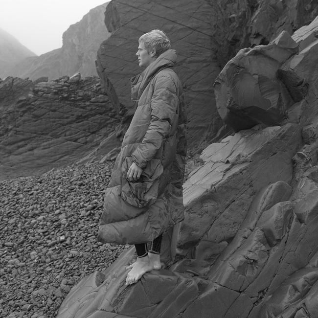 el abrigo saco de GRIFFIN