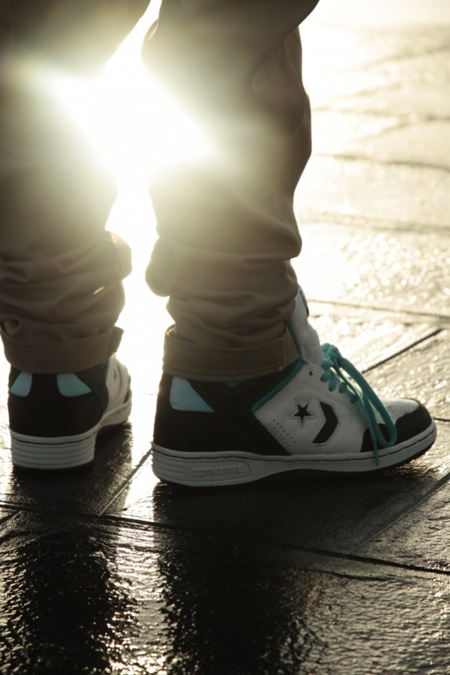 VII CONVERSE IS ON, UP & IT