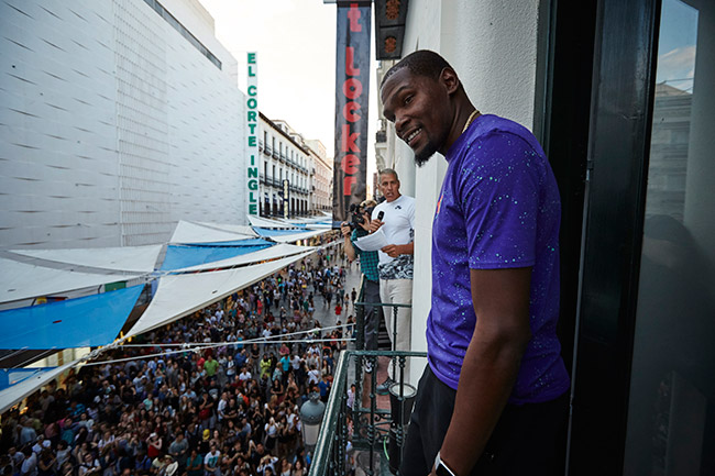 Kevin Durant @ Madrid
