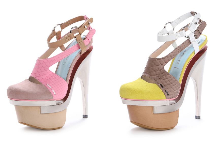 VERSACE SHOES SPRING SUMMER 2010