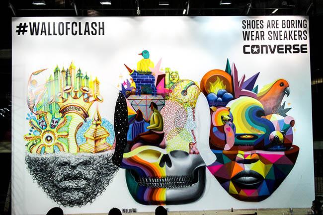 SNEAKERS CLASH, TRACA FINAL @ MADRID