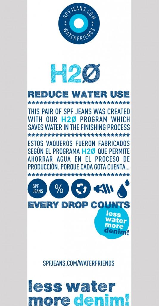 LESS WATER, MORE DENIM!