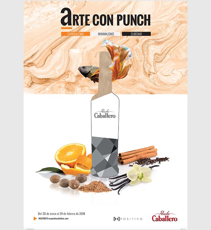 Premios Ponche Caballero: Arte con Punch