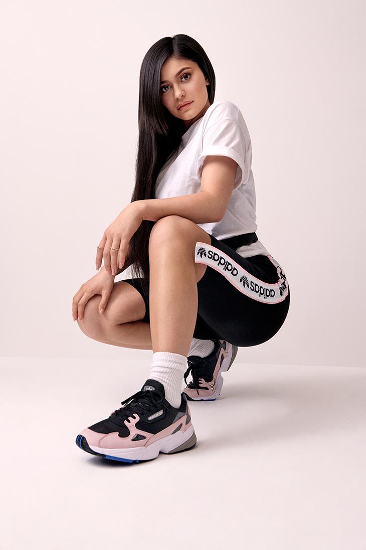 adidas Falcon, las Zapatillas de Kylie Jenner