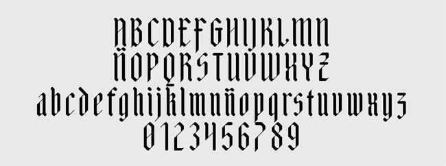 Tipografía Adlibitum
