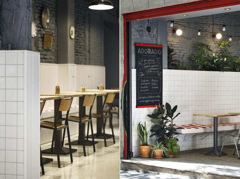 Adorado Café Bar: Modernidad en Lavapiés