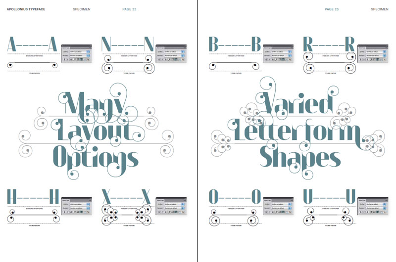 Sorteamos 2 packs de la tipografía Apollonius