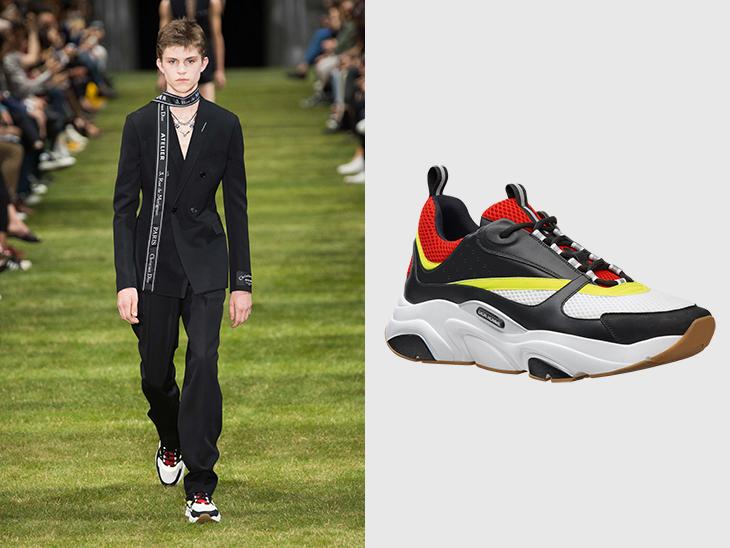 B22 la sneaker de Dior Homme