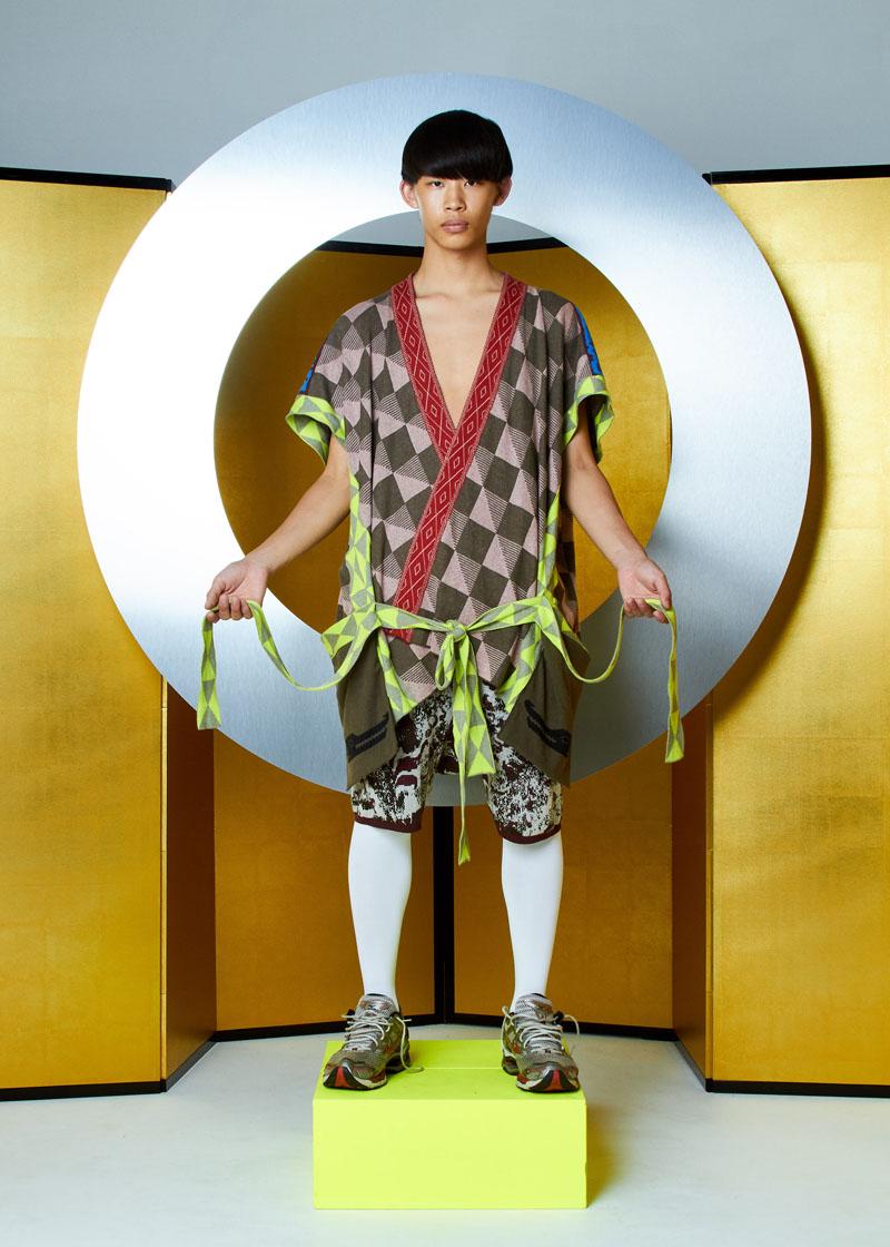 Moda japo: Bernhard Willhelm SS19