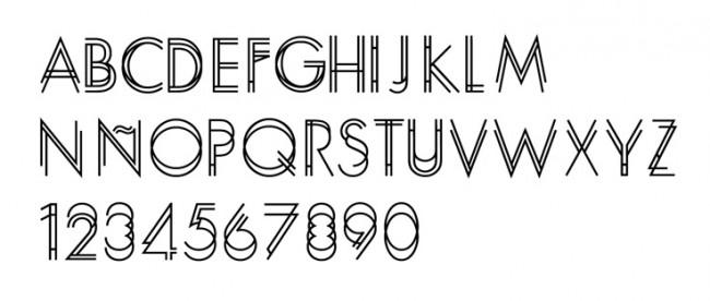 Tipografía Bipolar (Beta)
