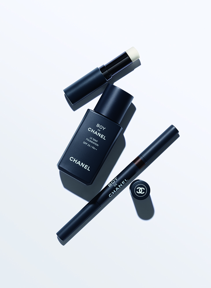 Maquillaje para hombres x Chanel