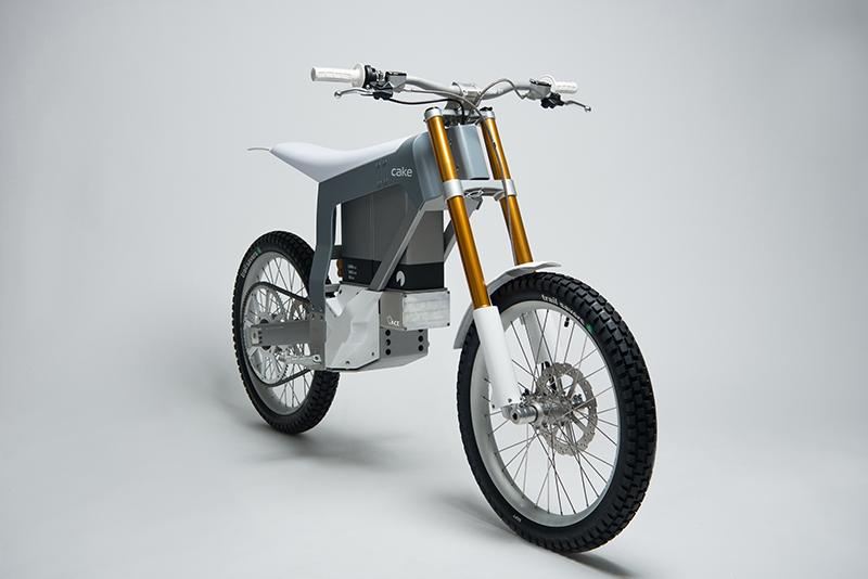 Kalk la moto off-road eléctrica de Cake