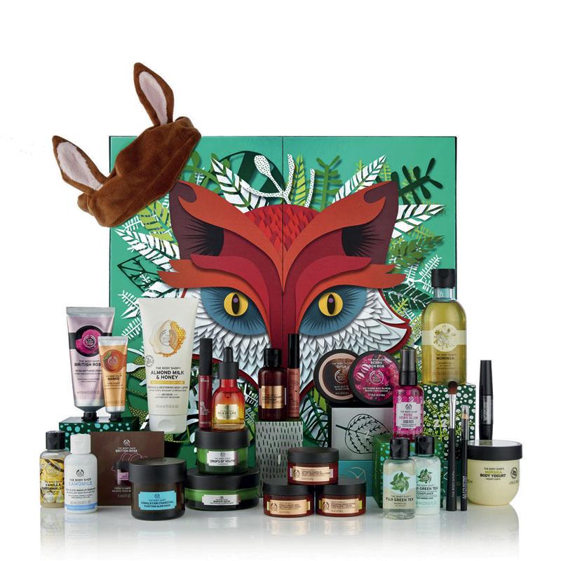 Calendarios de Adviento beauty x The Body Shop