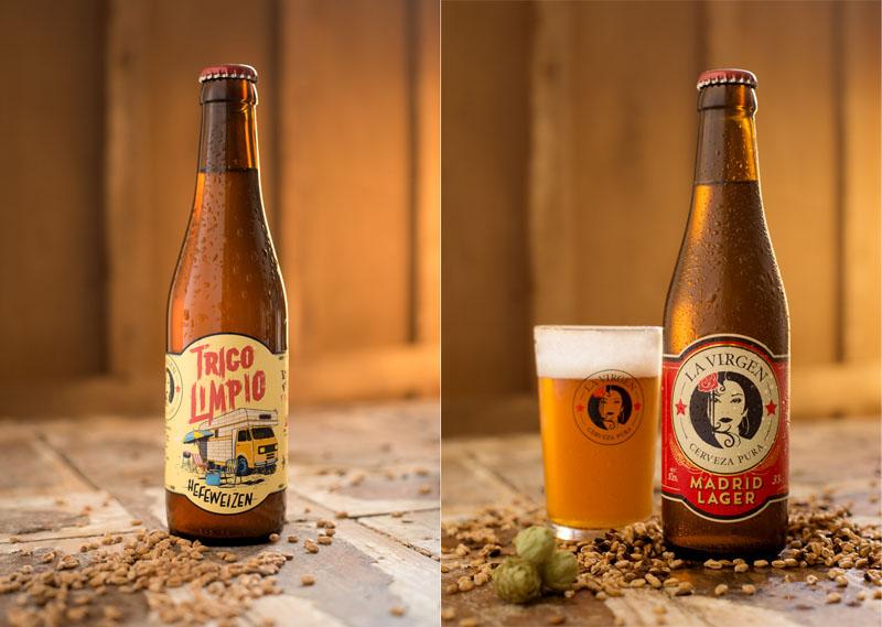 Cervezas La Virgen, de Madrid al cielo