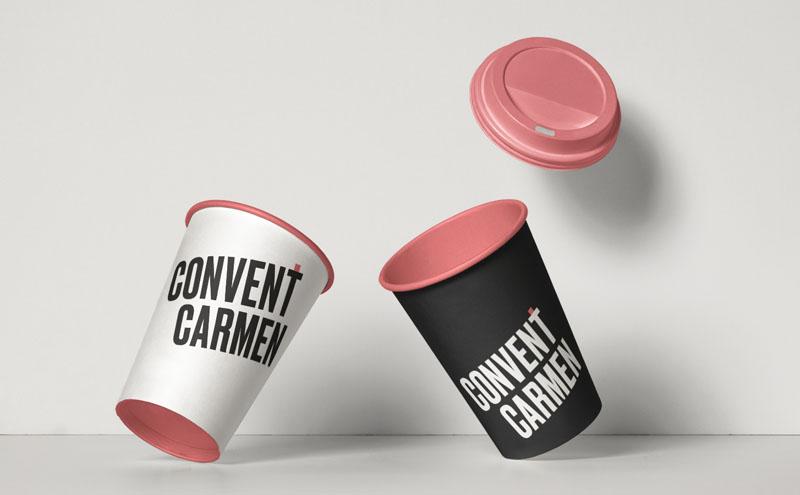 Convent Carmen, interiorismo e imagen gráfica