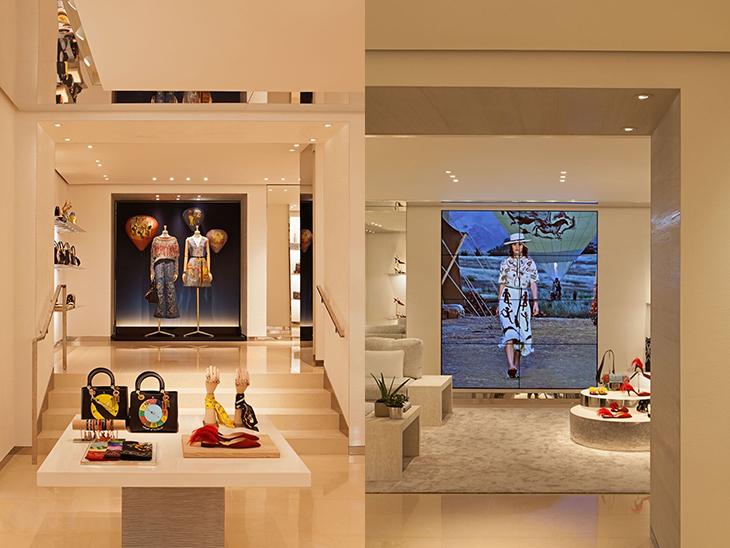 Dior estrena tienda en Madrid