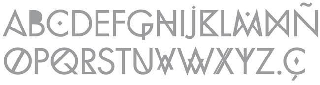 Tipografía Futura Divine Intervention